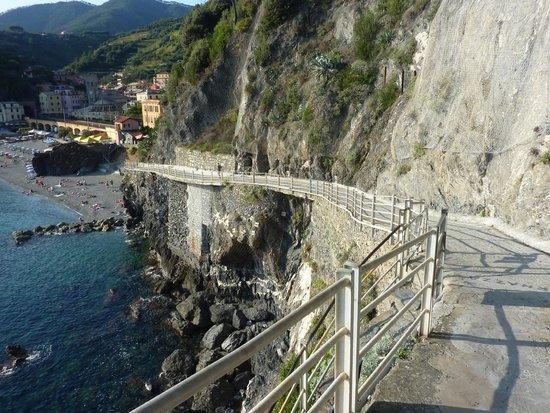 Road down to Monterosso