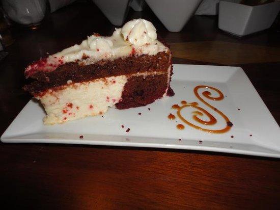 Guava Limb Cafe: Delicious Red Velvet Cake