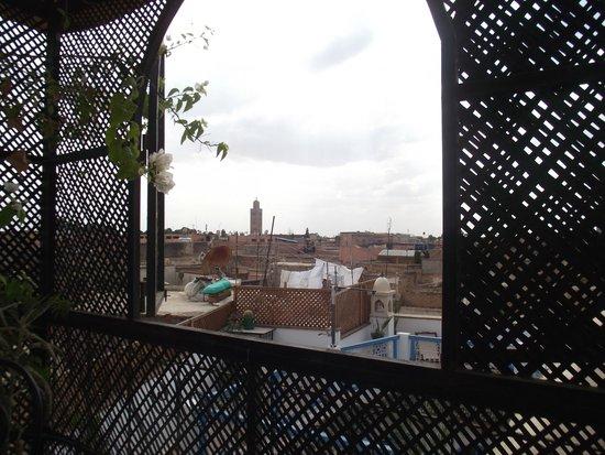 Riad Bibtia: From the terrace