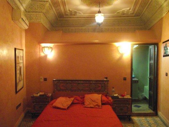 Riad Bibtia: Bedroom