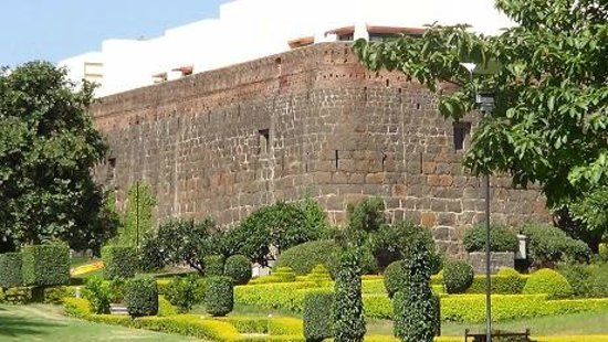 Fort JadhavGADH: Taken from the lawn