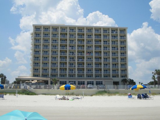 ocean picture of hyatt place daytona beach oceanfront. Black Bedroom Furniture Sets. Home Design Ideas