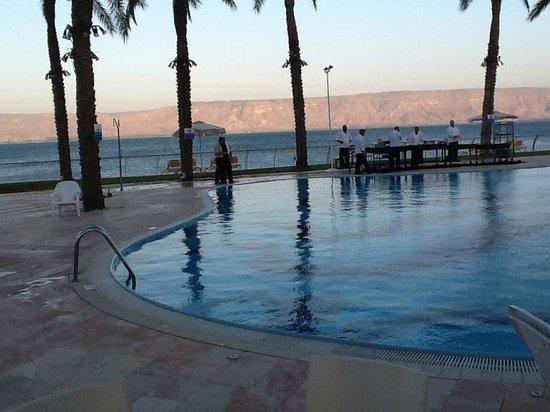 Gai Beach Resort Spa Hotel: Overlooking the Sea of Galilee
