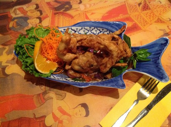 Thai Winchester: Soft Shell Crab Special