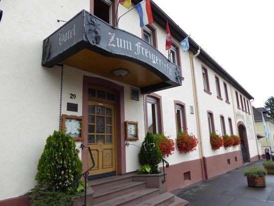 Hotel zum Freigericht: Main entrance