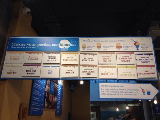 Murphys Ice Cream: Flavors