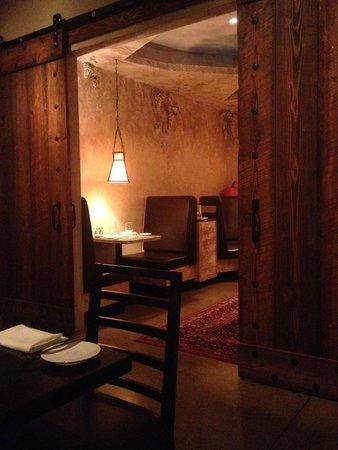 Next Door by Wegmans: Private dining area