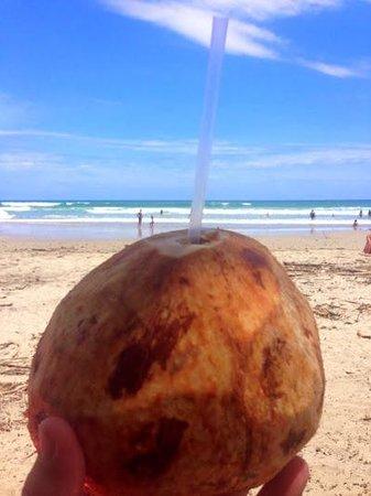 Playa Manzanillo: Fresh Coconut On The Beach