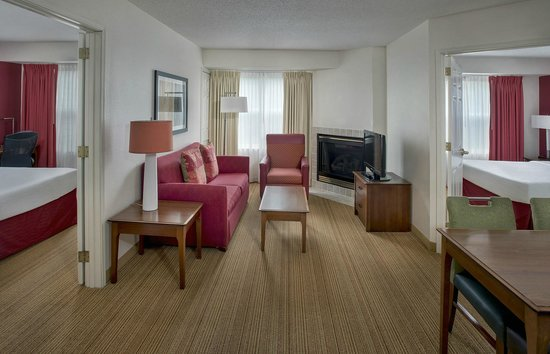 Residence Inn Boston Andover: Two Bedroom Suite