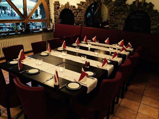 Verano Aachen tisch eingedeckt picture of restaurant verano aachen tripadvisor