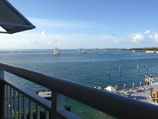 Hyatt Centric Key West Resort and Spa: View from room (partial sea view)