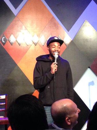 Caroline's Comedy Club: Super funny comedian!