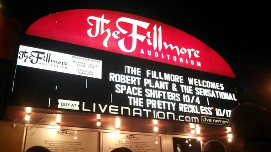 ‪Fillmore Auditorium‬