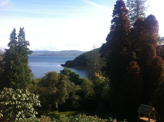 Stonefield Castle Hotel: view from terrace