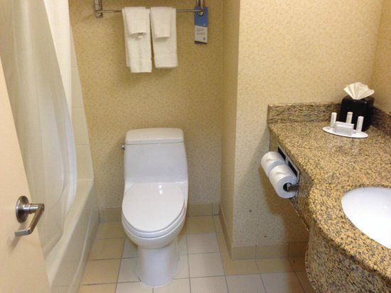Fairfield Inn New York LaGuardia Airport/Astoria: Toilet