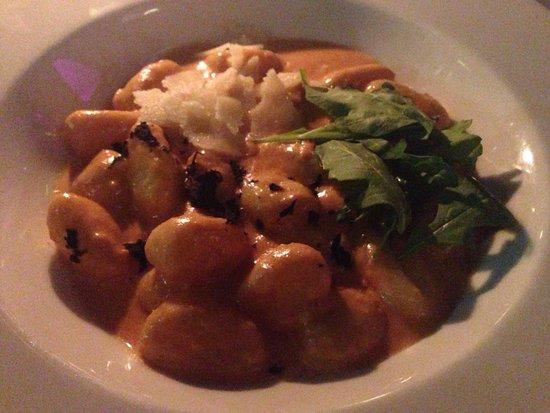 Restaurante HPC Portocolom : Gnochi con cangrejo y al aroma de trufa