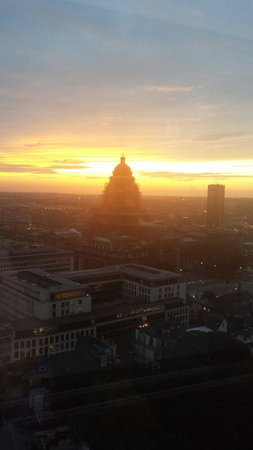 The Hotel - Brussels: View from our room. Stunning!