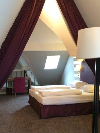 Moselschlösschen: Junior suite über 2 Etagen.