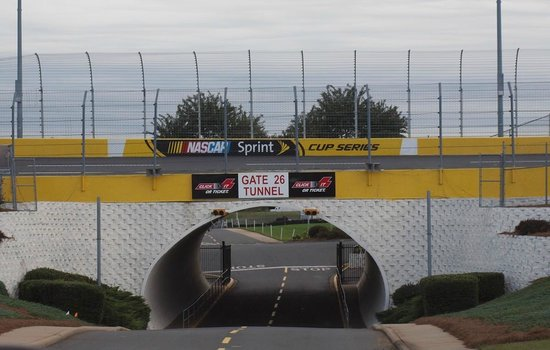 Gate 26 tunnel picture of charlotte motor speedway for Tickets to charlotte motor speedway