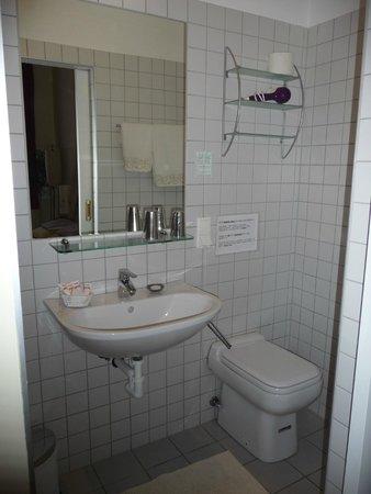 Stadtnest Bed & Breakfast and Apartment: Ensuite bathroom