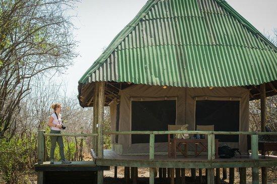 Tarangire River Camp: Tante