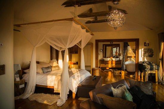 Escarpment Luxury Lodge: chambre