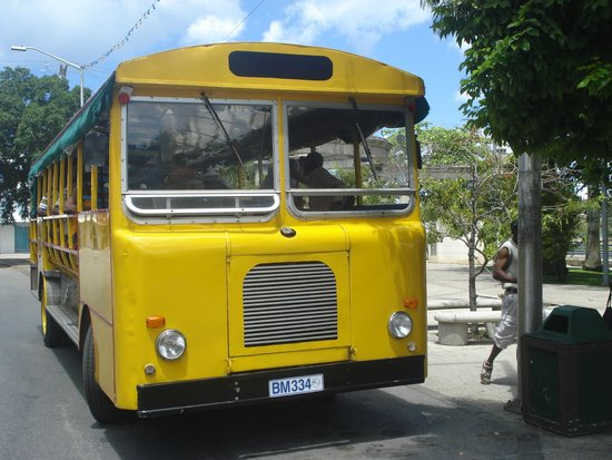 Saint Michael Parish, Barbados: The bus