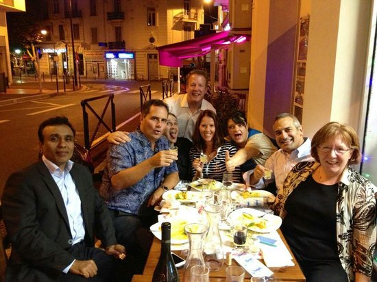 Romagna mia : Fantastic night with our hosts!