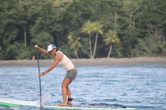 Costa Rica Stand Up Paddle Boarding: Long distance paddling in Pavones