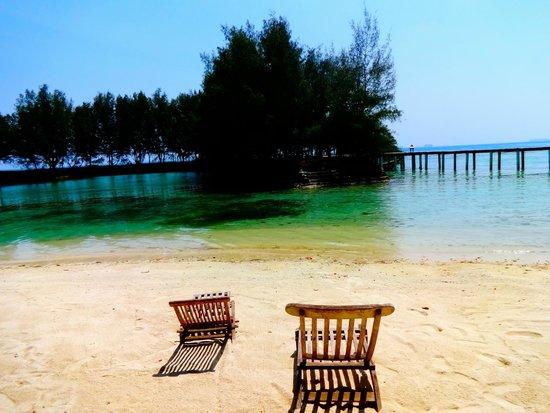 Alam Kotok Island Resort: Kotok Island Beach
