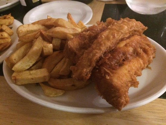 Bardsley's: Huss and chips