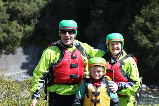 Rafting New Zealand: The Sutherland's went rafting