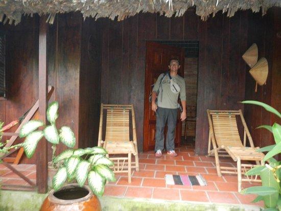 Esterno del bungalow photo de jardin du mekong homestay for Jardin du mekong homestay