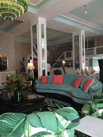 Fresh new lobby at The Colony Hotel Palm Beach
