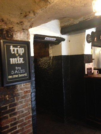 Ye Olde Trip to Jerusalem: More the inside of the Old Inn
