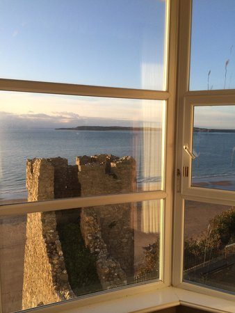 The Imperial Tenby Hotel: Room with a view
