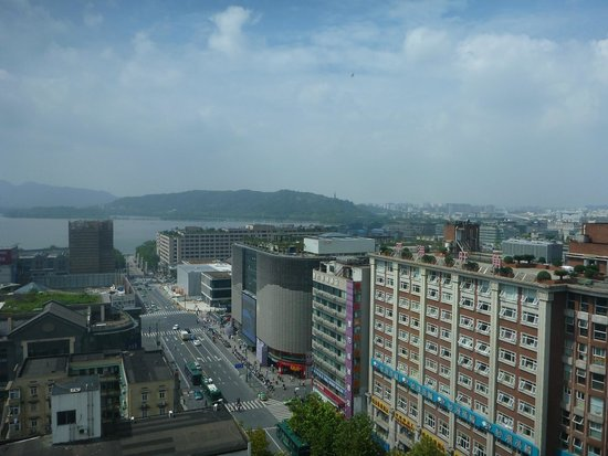 Friendship Hotel Hangzhou: View from Revolving Restaurant