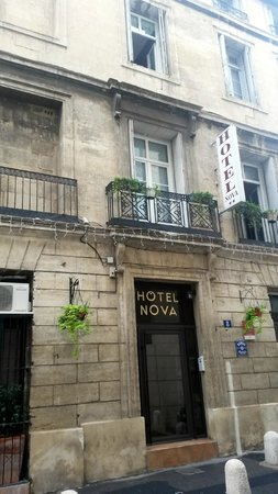 Nova Hotel: Hotel entrance