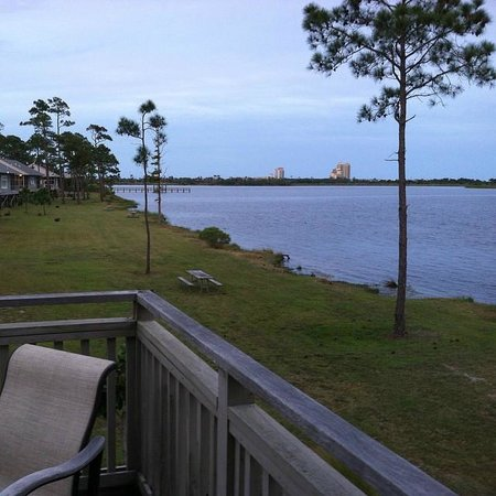 Cottage deck picture of gulf state park gulf shores for Gulf shore cottages