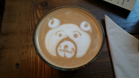 Baltzersens: A bear was created for my Honey Latte. Kudos to Ben, and success on competing in the National Ch