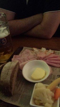 Bavarian Bier Cafe: Shared platter