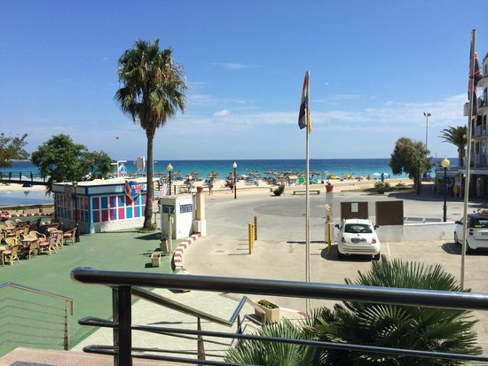 beach near to the hotel - Picture of Playa Moreia ...