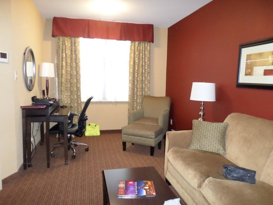 Holiday Inn Express & Suites Downtown Buffalo: Photo of Livingroom