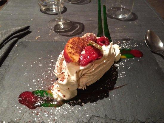 L'Agapée: Vacherin caramel beurre salé