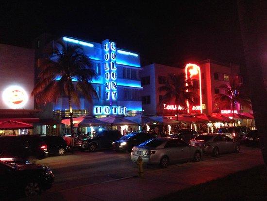 The Colony Hotel Colon At Night