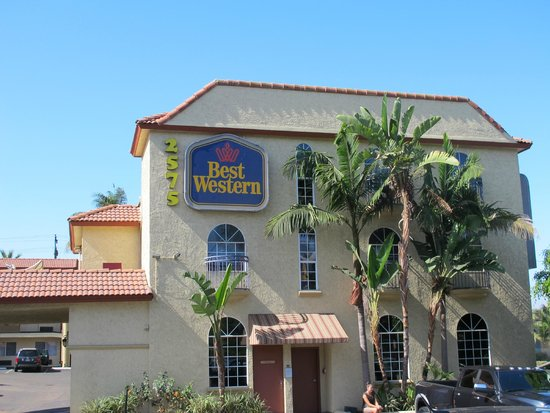 Best Western Mission Bay : Fachada do hotel.
