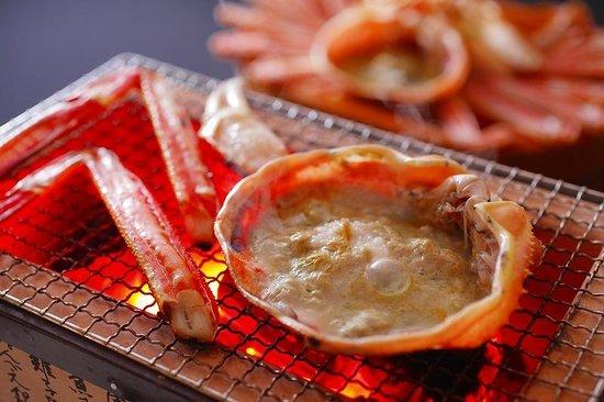 Jukaitei : 焼がにも美味しいですね。
