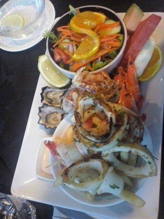 Trevi Fountain Italian Restaurant: Seafood Plate Trevi Fountain