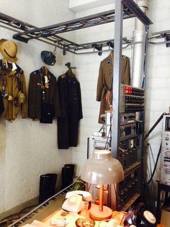 KGB Museum: soviet uniforms