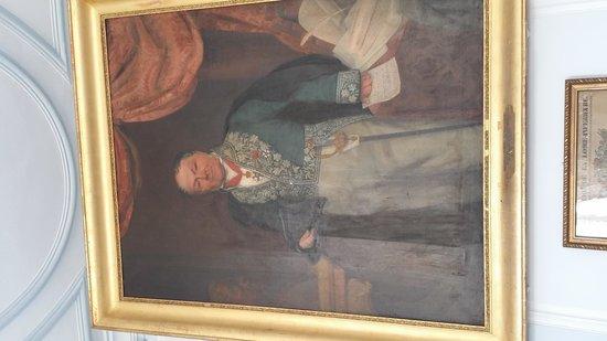 Chateau de la Barre: Charles de Vanssay portrait